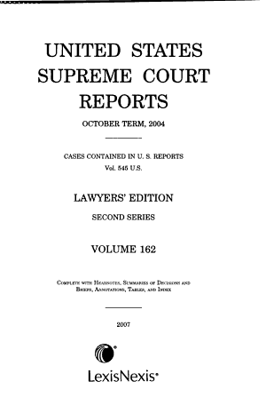 United States Supreme Court Reports PDF