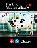 Thinking Mathematically Value Package  Includes Mathxl 12 Month Student Access Kit