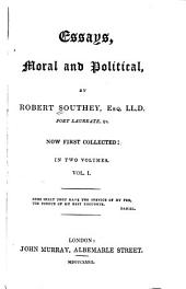 Essays, Moral and Political: Volume 1