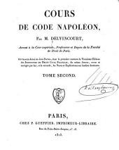 Cours de Code Napoléon: Volume2