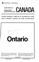 Gazetteer of Canada