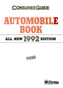 The Automobile Book 1992