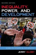 Inequality  Power  and Development PDF