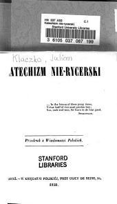 Katechizm nie-rycerski