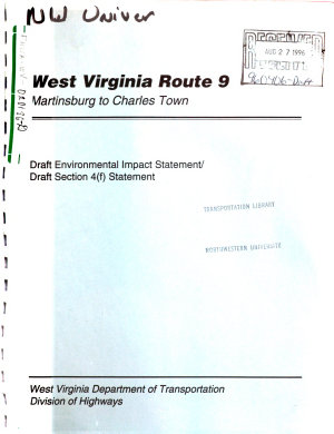West Virginia Route 9  WV9   Martinsburg to Charles Town  Jefferson and Berkeley Counties PDF