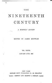 The Nineteenth Century: Volume 37