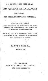 El ingenioso hidalgo Don Quixote de la Mancha: Volumen 3