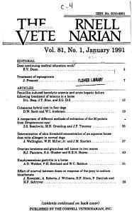 The Cornell Veterinarian PDF