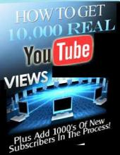 How to Get 10,000 Real Youtube Views