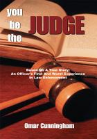 You Be the Judge PDF