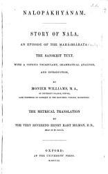 Story Of Nala  Book PDF