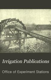 Irrigation Publications
