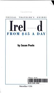 Frommer s Ireland from 45 Dollars a Day PDF
