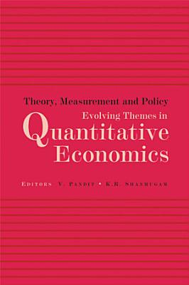 Theory  Measurement and Policy