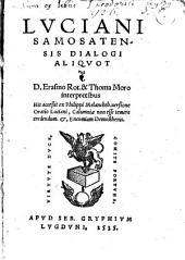 Lvciani Samosatensis Dialogi aliqvot