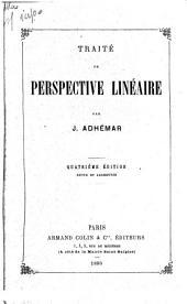 Traité de perspective linéaire