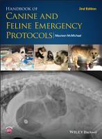 Handbook of Canine and Feline Emergency Protocols PDF