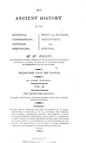 The Ancient History of the Egyptians: Carthaginians, Assyrians, Babylonians, Medes & Persians, Macedonians, and Grecians