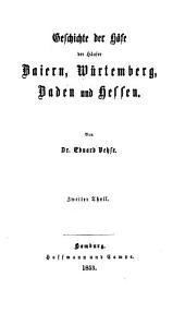 Geschichte der deutschen höfe seit der reformation: Band 24