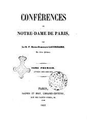 Conférences de Notre-Dame de Paris par Henry-Dominique Lacordaire: Années 1835-1836-1843