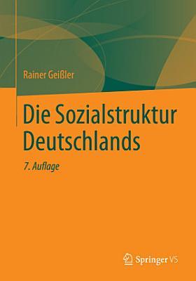 Die Sozialstruktur Deutschlands PDF
