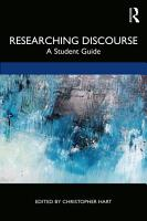 Researching Discourse PDF