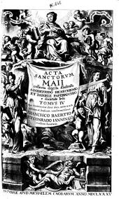 Acta sanctorum maii