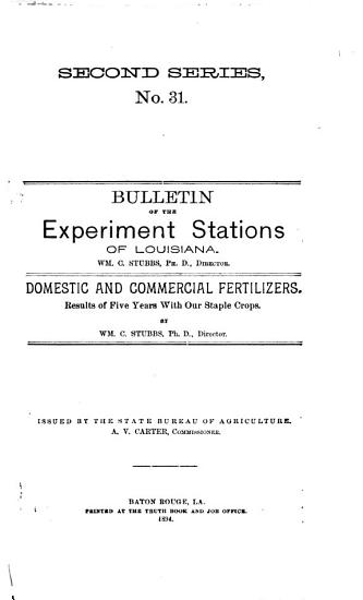 Bulletin of the Agricultural Experiment Station PDF