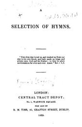 A Selection of Hymns. [Compiled, and in part written, by Sir Edward Denny.]
