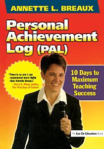 Personal Achievement Log  PAL  Book