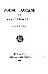 Poesie toscane di Francesco Redi Aretino