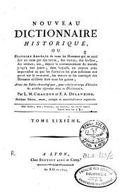 Nouveau dictionnaire historique [...]: Volume6
