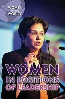 Women in Positions of Leadership PDF