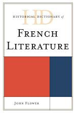 Historical Dictionary of French Literature
