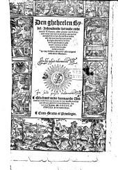 Den gheheelen Bybel/ Inhoudende het oude ende nieuwe Testament/