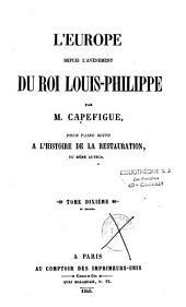 L'Europe depuis l'avènement du roi Louis-Philippe: Volume8