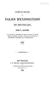 Compte-rendu du salon d'exposition de Bruxelles, 1836