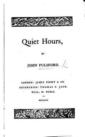 Quiet Hours PDF