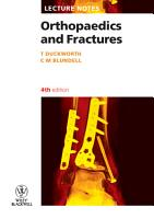Lecture Notes  Orthopaedics and Fractures PDF
