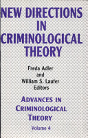 New Directions in Criminological Theory PDF