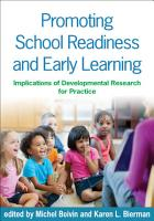 Promoting School Readiness and Early Learning PDF