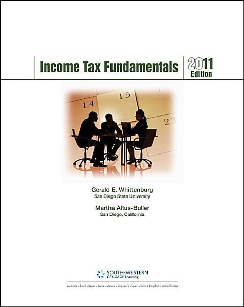 Income Tax Fundamentals 2011