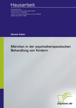 M   rchen in der psychotherapeutischen Behandlung von Kindern PDF