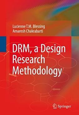 DRM  a Design Research Methodology PDF