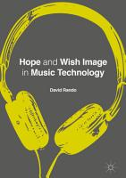 Hope and Wish Image in Music Technology PDF