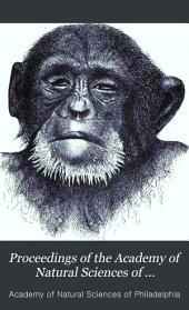 Proceedings of the Academy of Natural Sciences of Philadelphia: Volume 31