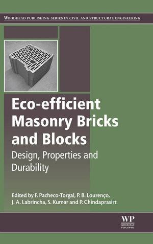 Eco efficient Masonry Bricks and Blocks