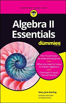 Algebra II Essentials For Dummies PDF