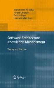 Software Architecture Knowledge Management PDF