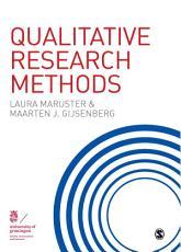 Qualitative Research Methods PDF